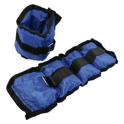Vektmansjetter - 2 X 0,7 kg blå