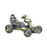 Tråkkebil - Svart og gul