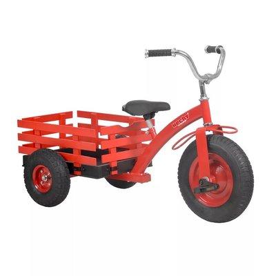 Trehjulssykkel - rød