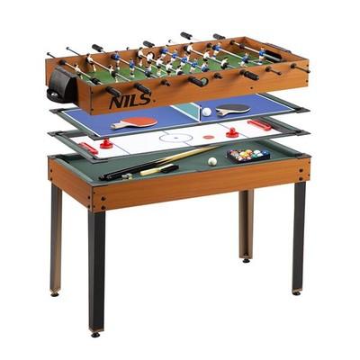 Spillebordsett med 4 spill