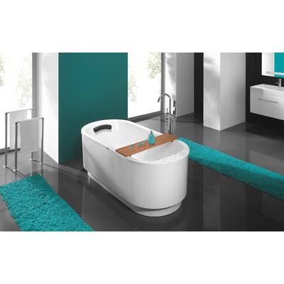 Oval badekar - Free Line | Dybde 45 cm