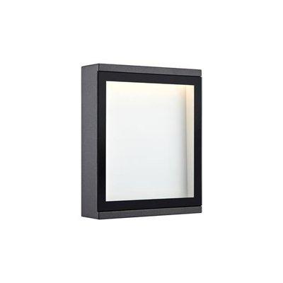 Lerbäck Vegglampe - Mørkegrå