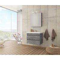 Møbelpakke Luxus 70 granitt
