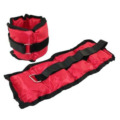 Vektmansjetter - 2 X 0,7 kg rød