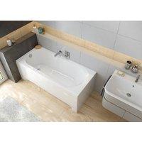 Rektangulært, innebygget badekar - Idea
