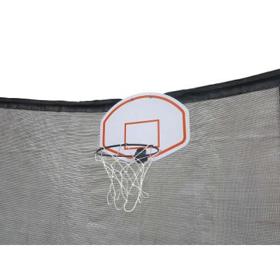 Basketkurv med ball for trampoline