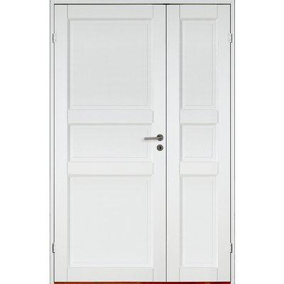 Grünerløkka innerdør med sidedør - 3-speil - Massiv
