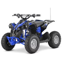 Mini-firehjuling Svart & blå - 1060W