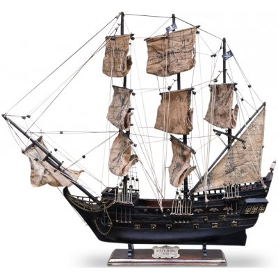 Modellbåt Black Pearl - 65 cm