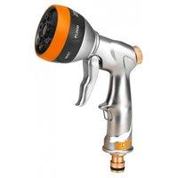 Sprøytepistol i aluminium med justerbar dyse