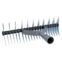 Dobbeltsidig rake for jordlufting